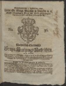 Wochentlich-Stettinische Frag- und Anzeigungs-Nachrichten. 1757 No. 36