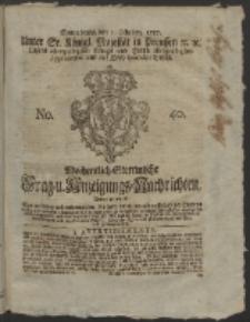 Wochentlich-Stettinische Frag- und Anzeigungs-Nachrichten. 1757 No. 40
