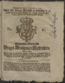 Wochentlich-Stettinische Frag- und Anzeigungs-Nachrichten. 1757 No. 50 + Anhang