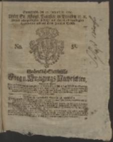 Wochentlich-Stettinische Frag- und Anzeigungs-Nachrichten. 1765 No. 51 + Anhang
