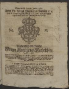 Wochentlich-Stettinische Frag- und Anzeigungs-Nachrichten. 1760 No. 25 + Anhang