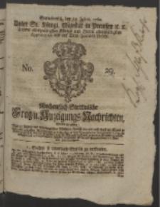 Wochentlich-Stettinische Frag- und Anzeigungs-Nachrichten. 1760 No. 29 + Anhang