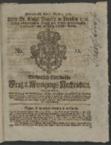 Wochentlich-Stettinische Frag- und Anzeigungs-Nachrichten. 1761 No. 12 + Anhang