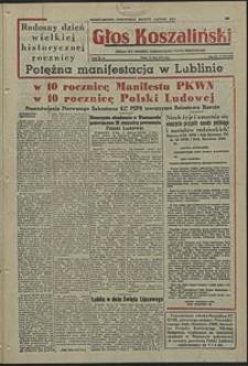 Głos Koszaliński. 1954, lipiec, nr 173
