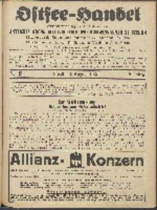 Ostsee-Handel : Wirtschaftszeitschrift für der Wirtschaftsgebiet des Gaues Pommern und der Ostsee und Südostländer. Jg. 6, 1926 Nr. 15