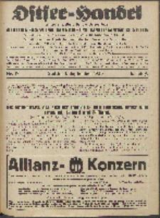 Ostsee-Handel : Wirtschaftszeitschrift für der Wirtschaftsgebiet des Gaues Pommern und der Ostsee und Südostländer. Jg. 6, 1926 Nr. 17