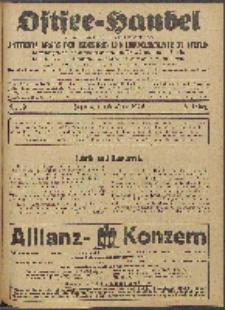 Ostsee-Handel : Wirtschaftszeitschrift für der Wirtschaftsgebiet des Gaues Pommern und der Ostsee und Südostländer. Jg. 6, 1926 Nr. 19