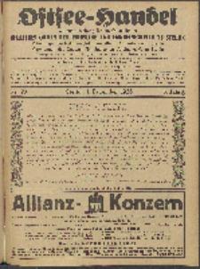 Ostsee-Handel : Wirtschaftszeitschrift für der Wirtschaftsgebiet des Gaues Pommern und der Ostsee und Südostländer. Jg. 6, 1926 Nr. 23