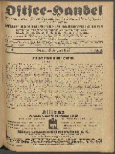 Ostsee-Handel : Wirtschaftszeitschrift für der Wirtschaftsgebiet des Gaues Pommern und der Ostsee und Südostländer. Jg. 7, 1927 Nr. 16
