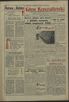 Głos Koszaliński. 1954, sierpień, nr 190