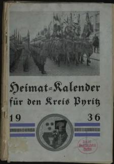 Heimat = Kalender für den Kreis Pyritz.1936