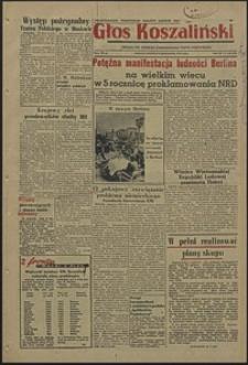 Głos Koszaliński. 1954, październik, nr 240