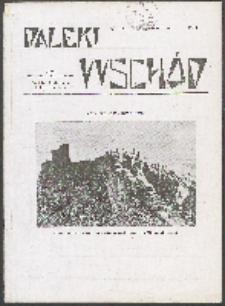 Daleki Wschód. 1933 nr 1