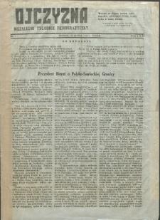 Ojczyzna : niezależny tygodnik demokratyczny. 1945 nr 1
