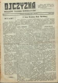 Ojczyzna : niezależny tygodnik demokratyczny. 1946 nr 4