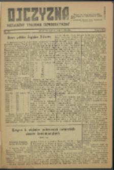 Ojczyzna : niezależny tygodnik demokratyczny. 1946 nr 22
