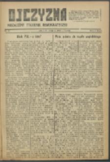 Ojczyzna : niezależny tygodnik demokratyczny. 1946 nr 43