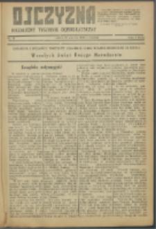 Ojczyzna : niezależny tygodnik demokratyczny. 1946 nr 48