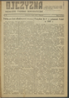 Ojczyzna : niezależny tygodnik demokratyczny. 1947 nr 57