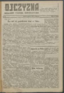 Ojczyzna : niezależny tygodnik demokratyczny. 1947 nr 58