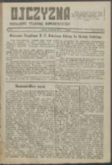 Ojczyzna : niezależny tygodnik demokratyczny. 1947 nr 61