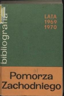 Bibliografia Pomorza Zachodniego. T.9, 1969-1970