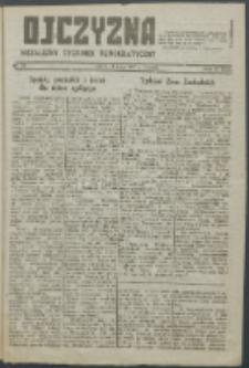 Ojczyzna : niezależny tygodnik demokratyczny. 1947 nr 66