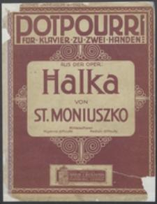 Potpourri : für Klavier zu zwei Händen : aus der Oper Halka
