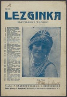 Lezginka : kaukaski taniec