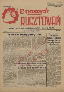 Z Naszych Rusztowań. R.1, 1954 nr 5