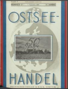 Ostsee-Handel : Wirtschaftszeitschrift für der Wirtschaftsgebiet des Gaues Pommern und der Ostsee und Südostländer Jg. 14, 1934 Nr. 17