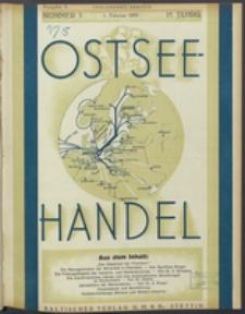 Ostsee-Handel : Wirtschaftszeitschrift für der Wirtschaftsgebiet des Gaues Pommern und der Ostsee und Südostländer. Jg. 15, 1935 Nr. 3