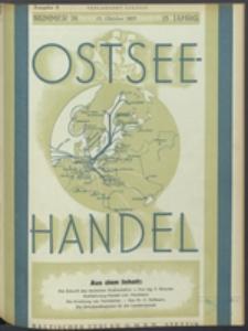 Ostsee-Handel : Wirtschaftszeitschrift für der Wirtschaftsgebiet des Gaues Pommern und der Ostsee und Südostländer. Jg. 15, 1935 Nr. 20