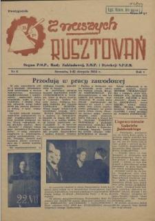 Z Naszych Rusztowań. R.1, 1954 nr 6