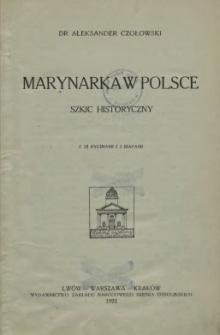 Marynarka w Polsce : szkic historyczny