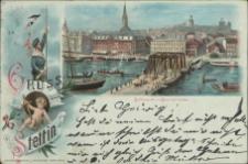 Gruss aus Stettin, Bollwerk mit Baumbrücke
