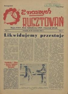 Z Naszych Rusztowań. R.1, 1954 nr 8