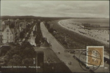 Ostseebad Swinemünde, Promenade