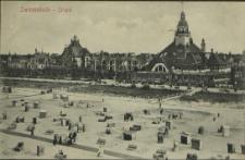 Swinemünde, Strand