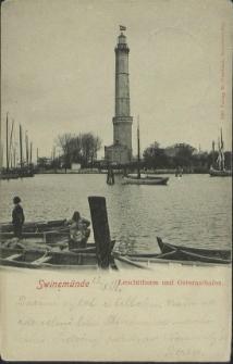 Swinemünde, Leuchtturm und Osternothafen