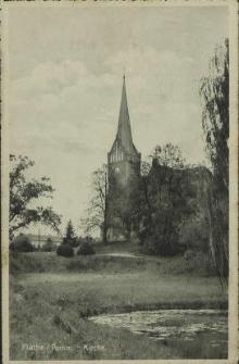 Plathe/ Pommern- Kirche