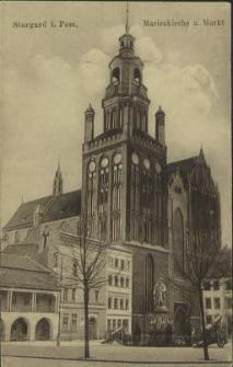 Stargard in Pommern, Marienkirche und Markt