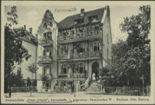 """Swinemünde, """"Haus Jrmela"""", Steinstraße 1, gegenüber Familienbad W- Besitzer Otto Marcus"""