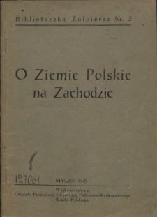O ziemie polskie na Zachodzie