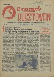 Z Naszych Rusztowań. R.1, 1954 nr 12