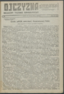 Ojczyzna : niezależny tygodnik demokratyczny. 1947 nr 68