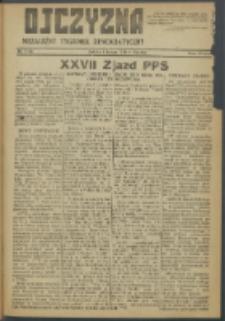 Ojczyzna : niezależny tygodnik demokratyczny. 1948 nr 84