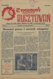 Z Naszych Rusztowań. R.2, 1955 nr 1