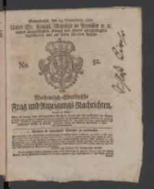 Wochentlich-Stettinische Frag- und Anzeigungs-Nachrichten. 1770 No. 52 + Anhang