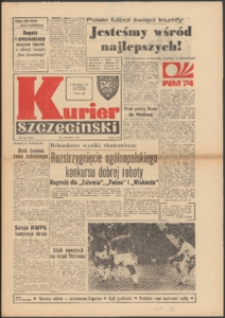 Kurier Szczeciński. 1974 nr 143 wyd. AB